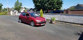 2004 Peugeot 206 5 door 112k miles