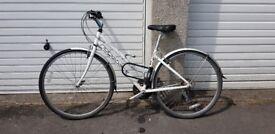 Ladies Hybrid Bike, Ridgeback Speed for sale, used