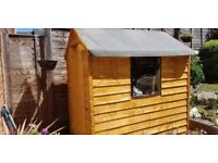 Garden shed. 6' X 4'. overlap shed. (BRAND NEW)