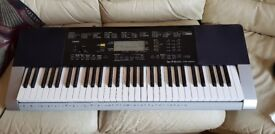 Casio CTK 4400.with sampling..midi..usb..touch response .61 full size piano keys 190 rythms 600 tone