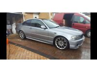 Bmw 325ci m-sport fsh 86k mint inside and out possible swap for vw caddy