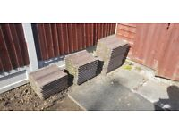 """38 x Roof Tiles (13"""" x 16"""") Good Condition - FREE TO COLLECT"""