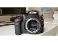 Nikon D5200 body and remote shutter