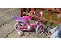 Cheap Raleigh Molly 12 inch pretty pink bike