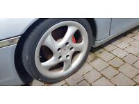 Porsche Boxter Wheels with very good tyres