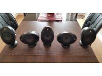 Kef Speakers Surround Sound 5.1 KHT Fantastic sound
