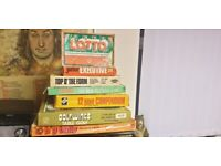 Job lot old vintage collectible board game