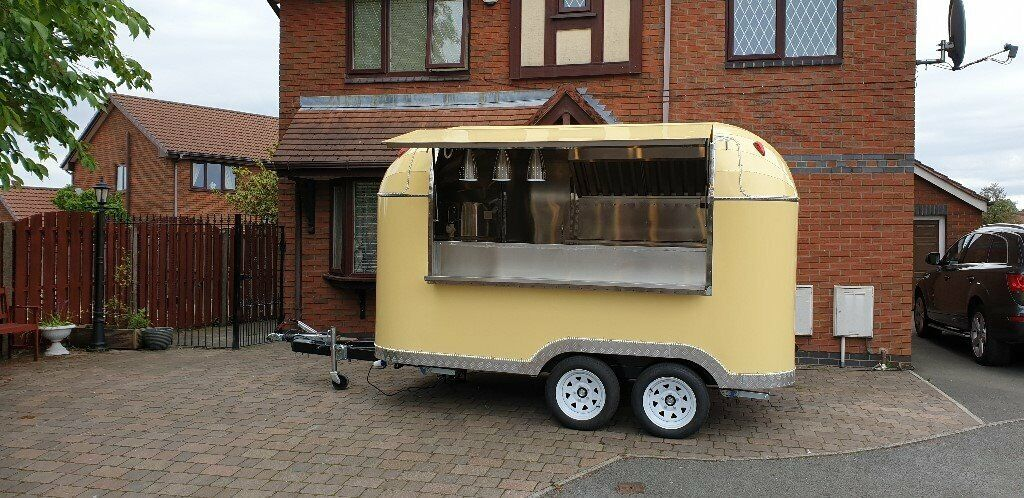 New Mobile Catering Trailer Burger Van Pizza Bar Trailer 3500x2100x2300  Ready To Go   in Southwark, London   Gumtree