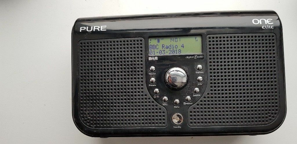 pure one elite dab fm radio on amazon in. Black Bedroom Furniture Sets. Home Design Ideas