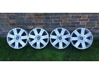 """Genuine Ford Alloy Wheels 17"""" 5x108"""