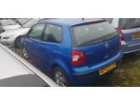 VW POLO 1.2 + ANY OLD CAR PX WELCOME + EXCELENT DRIVE + GOOD CONDITION