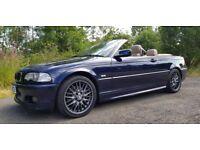 STUNNER!! BMW E46 330Ci Sport **Convertible**12 MONTHS MOT**LOW MILES**IMMACULATE**F.S.H