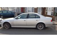 BMW 525D (Diesel) SE Auto 2002 - 4 Door Salon Silver, 105000 miles for Spare or Repair before Use