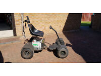 Electrocart Golf Buggy+2 boxed unused batteries+charger+ramp £700