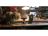Lathe, Ferm wood lathe. FHB 940