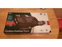Logitech Wave | Wireless Keyboard and Mouse Set