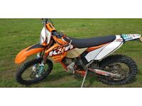 Ktm 250 exc factory edition 2011 px swap