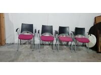 Set of 4 Office Chairs No101218