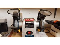 Ryobi EBG-2515 150mm Bench Grinder tool sharpening
