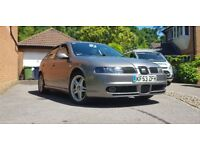 SEAT Leon Cupra, 1.8t, Full History, Low Milage, MOT Due 03/19. £3000 ono.