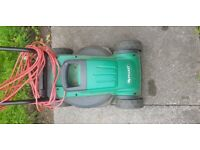 Qualcast electric lawn mower Easi Trak 320 1000 watts Bosch engineering spares and repairs