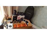 CANON EOS 700D LIKE NEW AND EXTRAS
