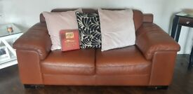 3 & 2 Seater leather sofas from Reids Furniture