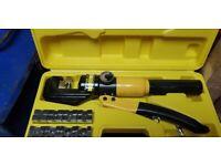 YQK-70 Portable Hydraulic 10 Ton Crimping Force Hand Crimper Crimping Tool