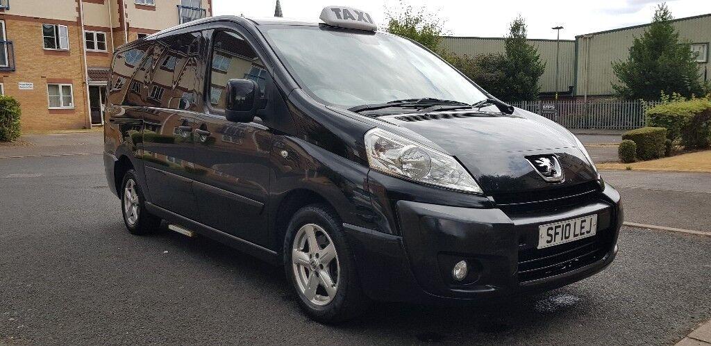 2010 (10) peugeot expert e7 taxi 2.0 hdi 9 seater minibus
