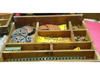 Job lot bulk collection of vintage old meccano