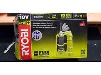 Ryobi R18R ONE+ 18v Cordless Bluetooth Radio