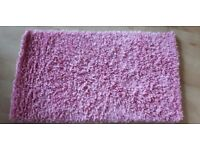 Pink Rug Great Condition Hardly Used