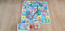 Giant Peppa Pig Snakes & Ladders