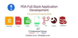 Free - Full Stack Application Development Course in Glasgow