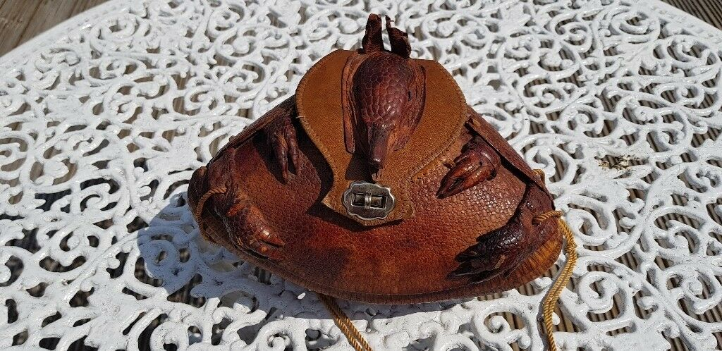 0c48f98071f2 Vintage armadillo handbag in excellent condition. £100 or nearest offer.