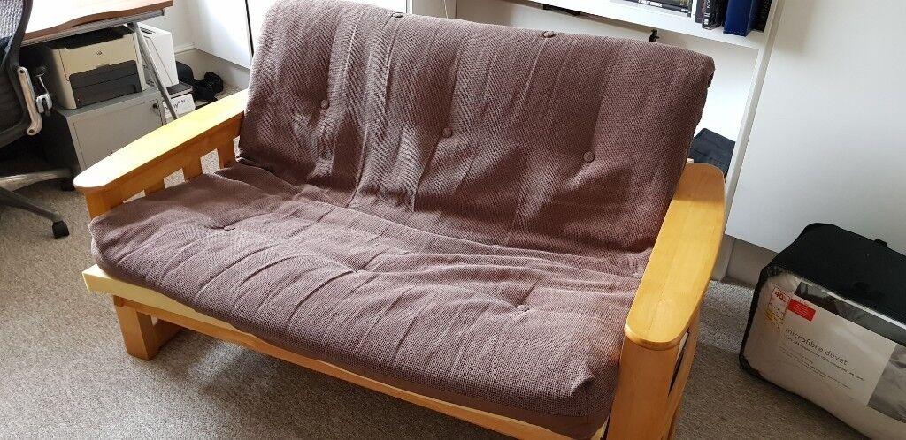 2 Seater Sofa Bed The Futon Company In Kingston London Gumtree