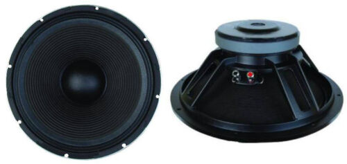 "NEW (2) 18"" Subwoofer Bass Cabinet Replacement Speakers.8 ohm.18inch Subs.PAIR"