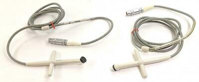 Philips 21221b Cw Doppler Pencil 1.9 Mhz Ultrasound Transducer Probe Lot Of 2