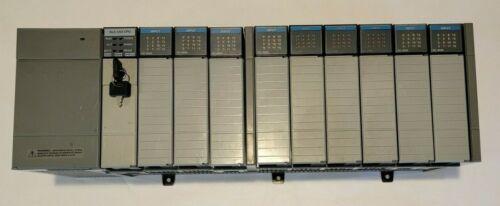 Allen-Bradley SLC 500 Rack, PLC, Power Supply and Digital Input Modules - Tested