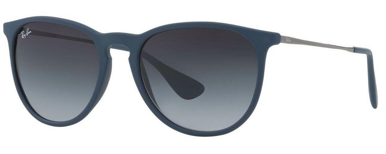 Ray-Ban Herren Damen Sonnenbrille RB4171 6002/8G ERIKA Gr 54 Silber BS F4