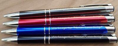 r mit individueller Wunschgravur Gravur Lasergravur Werbung (Werbe-kugelschreiber)