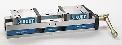 Kurt Manual Precision Self Centering Vise 6 Jaw Width X 8 Jaw Opening