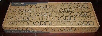 MITSUMI PS/2 Keyboard Clicky Keys MODEL: XT 104/105 NEW 104 Key Ps2 Keyboard