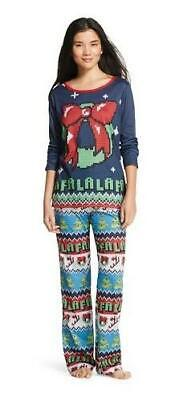 Women's UGLY SWEATER Print 2 pc. Pajamas ~ Ladies  L Large ~ - Ugly Sweater Pajamas