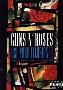 Guns N' Roses - Use Your Illusion II DVD NEW