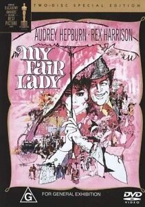 My-Fair-Lady-DVD-2004-2-Disc-Set-Classic-Family-Movie-Audrey-Hepburn-VGC-R4
