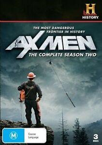 Ax Men : Season 2 (DVD, 2010, 3-Disc Set) Region 4