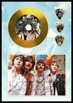 The Beatles plectrum golddisc display vele soorten