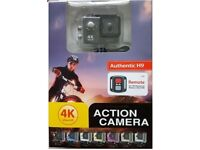 4k Ultra HD Action Camera, Wi Fi, remote control, 1080p Brank New, Unopened. .Only £22.99