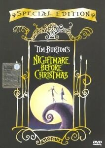 Nightmare Before Christmas DVD-Special Edition-very good